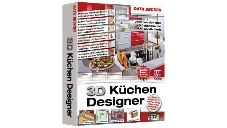 Data Becker: Küchen selber planen mit dem 3D Küchen Designer ...