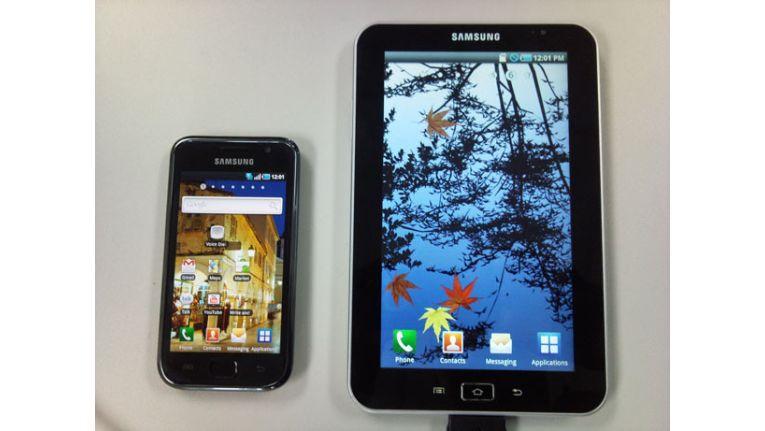 Dieses Bild des sPads von Samsung tauchte im Kurznachrichtendienst Twitter auf