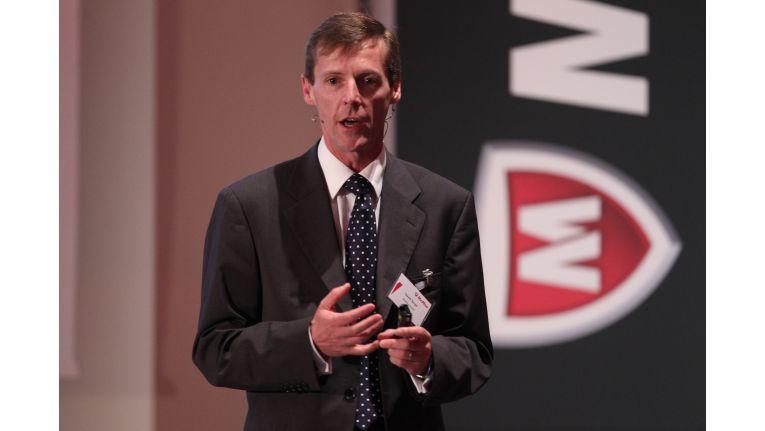 """David Small, McAfee Vice Presiden Channel EMEA: """"Die Ziele drehen sich um Gemeinschaftsprojekte zwischen McAfee und Partnern für spezielle Kundenanforderungen."""""""