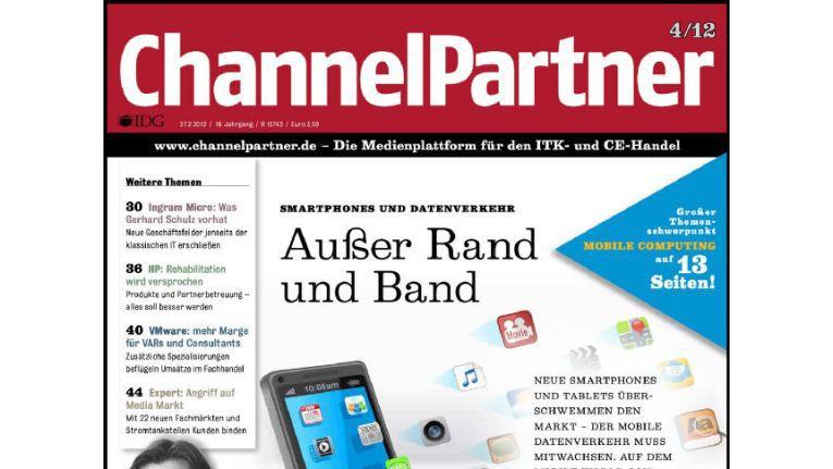 Titelseite der ChannelPartner-Ausgabe 4/12