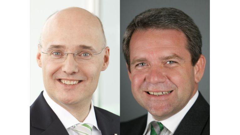 Im Juli folgte Friedrich Sobol (re.) auf dem EP-Chefposten auf Jörg Ehmer (li.)