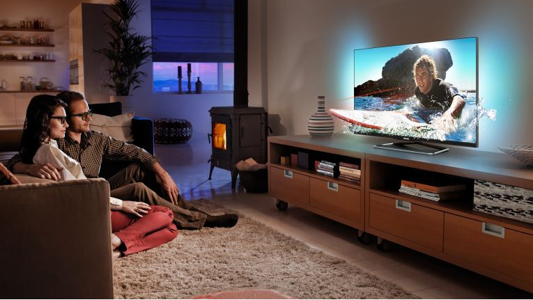 Fast die Hälfte des Umsatzes mit Unterhaltungselektronik entfällt auf Fernsehgeräte.