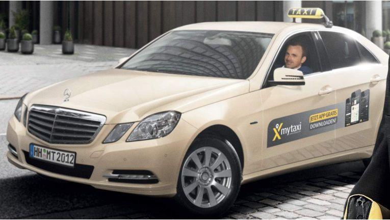 Liefert ab sofort nicht nur Fahrgäste, sondern auch Laptops und Flatscreens: mytaxi