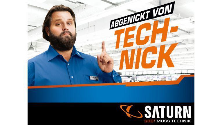 """""""Tech-Nick"""", das neue Werbegesicht von Saturn"""