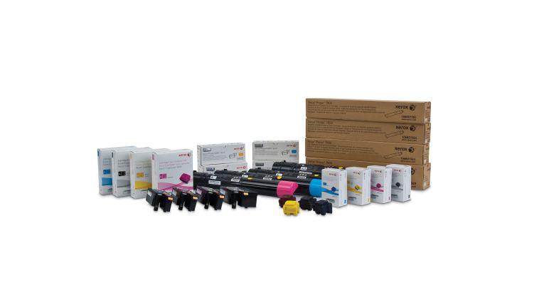 Alpha handelt vor allem mit Original-Supplies der großen Drucker- und Kopiererhersteller.