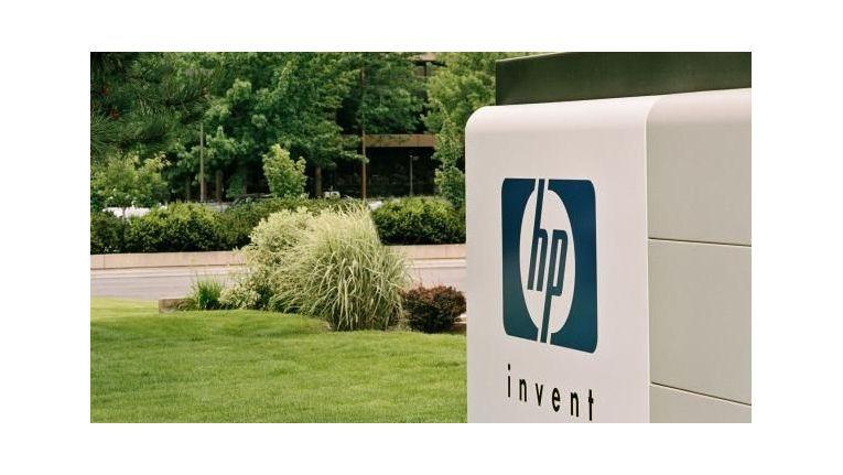 Der Campus von Hewlett-Packard in Palo Alto