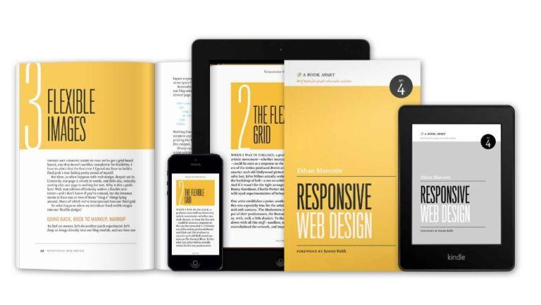 """Das Buch """"Responsive Web Design"""" zeigt wie man mehr als das oft praktizierte Umschalten zwischen drei Seitengrößen erreichen kann."""