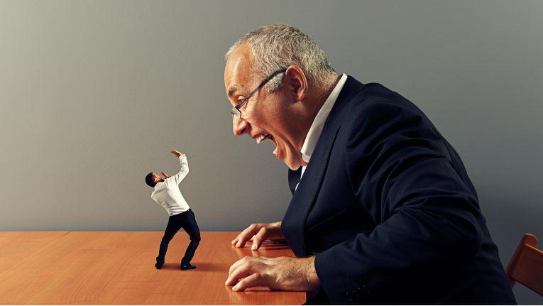 Ihr Chef scheint gelegentlich zum Monster zu mutieren? Das kann den Arbeitsalltag sehr unangenehm machen...