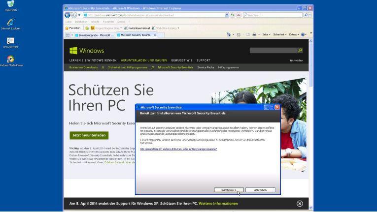 Es ist aus: Der Support alter Windows-Versionen läuft aus.