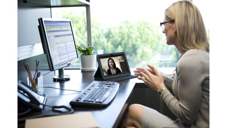 Praktisch: Lösungen, bei denen sich Mitarbeiter von jedem Endgerät aus in ein Meeting einwählen können.