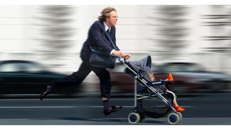 Wenn Familie und Beruf vereinbart werden müssen,bedeutet das für viele Arbeitnehmer vor allem eines: Stress.