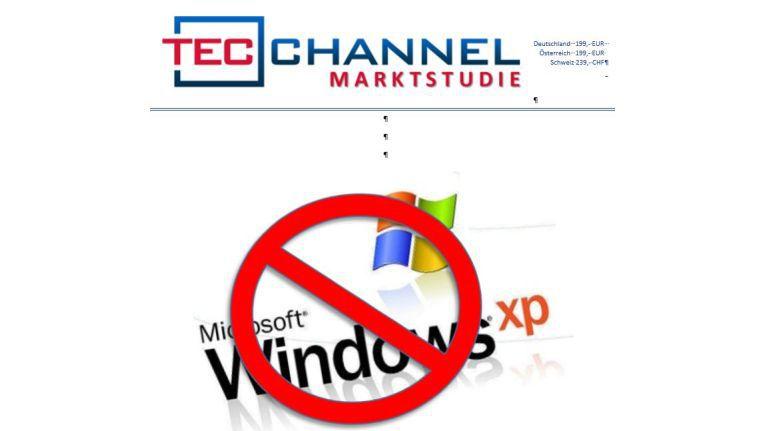 80 Seiten geballte Information zum Thema Windows-XP-Support: die aktuelle TecChannel-Studie.