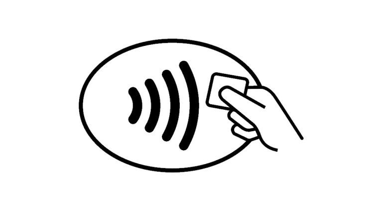 Contactless logotyp