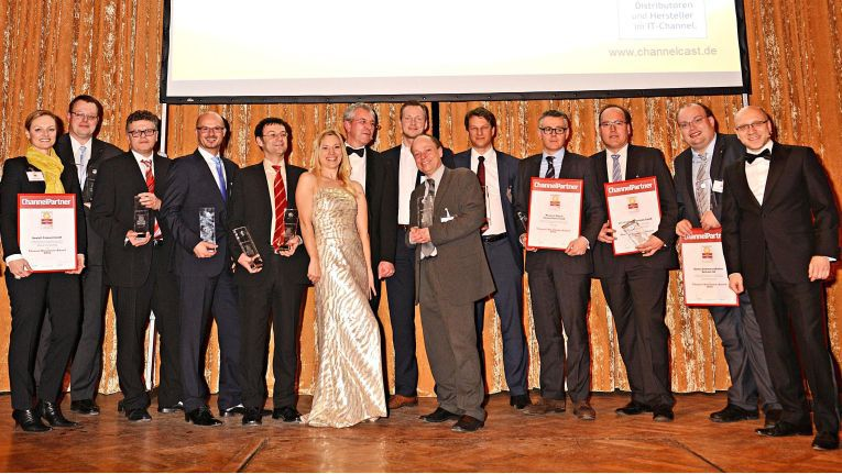 So sehen Sieger aus: Die Gewinner der Channel Excellence Awards 2013.