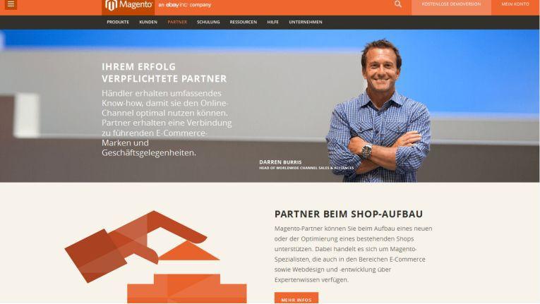 Unter http://de.magento.com/ finden Webshop-Betreiber und Partner nun lokalisierte Inhalte zu Magento-Produkten.