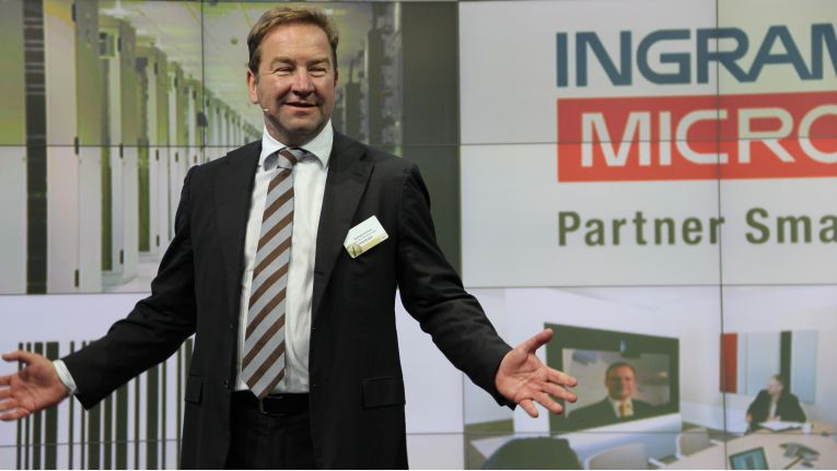 Gerhard Schulz, Senior Executive Vice President and President Ingram Micro Europe, will ein europäisches Geschäftsmodell einführen.