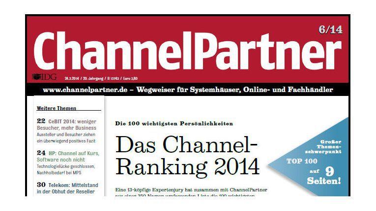 Titelseite der ChannelPartner-Ausgabe 6/14