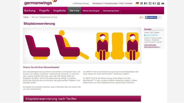 Reisende können auf der Online-Buchungsplattform germanwings.com oder über die mobilen Apps Flüge buchen und später per Rechnung zahlen.