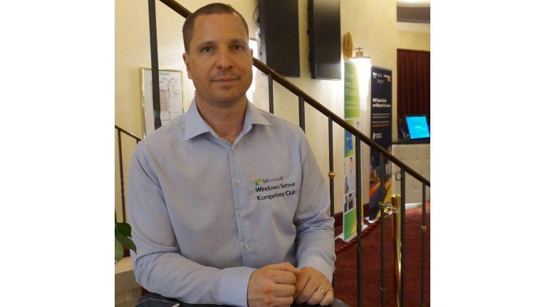 Sven Langenfeld, Initiator des Server Kompetenz Clubs und Manager OEM BDM Server bei Microsoft Deutschland