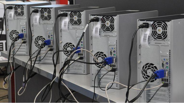 Bei BB-Net in Schweinfurt werden gebrauchte Geräte wiederaufbereitet und vermarktet.
