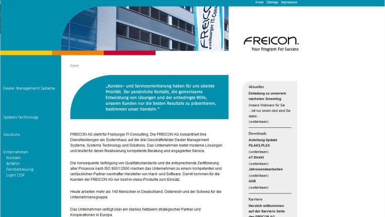 Die Freicon AG, ein Systemhaus aus Freiburg, nutzt den ALSO my Store, um IT-Komponenten an Endkunden auszuliefern.