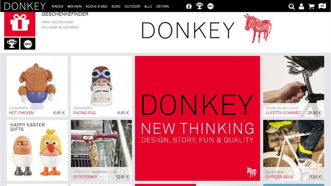 Best in eCommerce: Donkey Products mit Netshops
