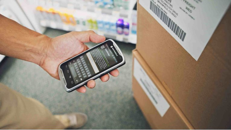 Motorola TC5: Barcode-Transfer und andere Business-Anwendungen.