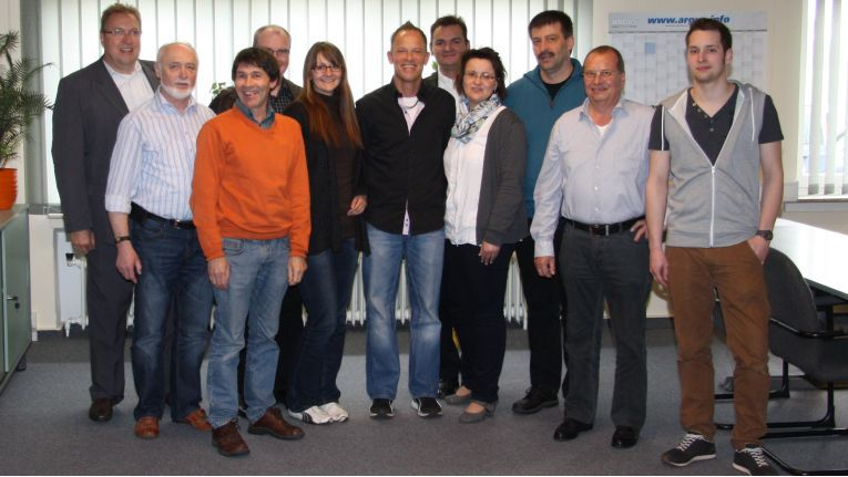 TK-Reseller nach dem bestandenen Vertriebs-Workshop bei Michael Telecom