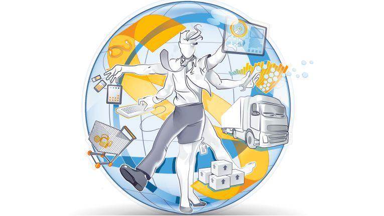 Damit B2B-Omnichannel-Commerce effektiv betrieben werden kann, sollten alle Backend-Systeme, die Kundenbeziehungen unterstützen, vollständig integriert werden.