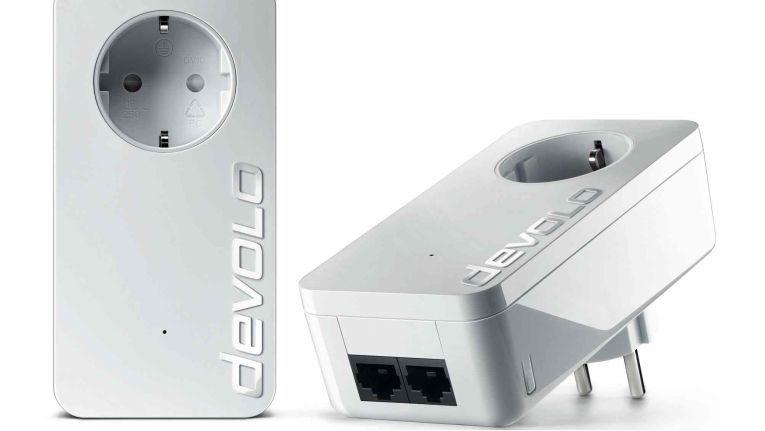 Devolo dLAN 550 duo+ ES: Range+ Technologie auch für Geschwindigkeitsklasse 500 Mbit/s.