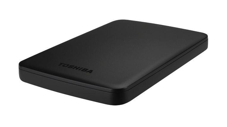 Toshiba Canvio Basics: Transferrate von bis zu 5 Gbit/s.