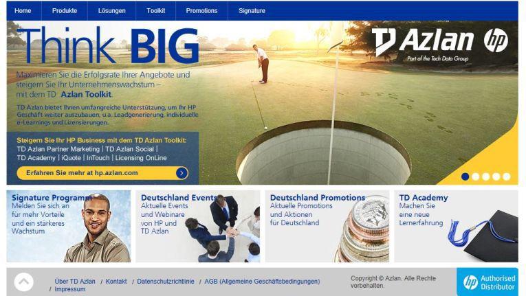 HP-Partner, die das Potenzial der neuen HP-Webseite von TD Azlan und die einzigartigen Tools erkunden möchten, finden unter www.hp.azlan.com/de alle Informationen.
