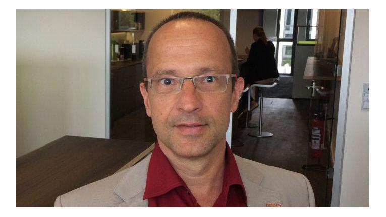 Carsten Grunert, Geschäftsführer der Cancom NSG, eläutert die eigene Cloud-Strategie.