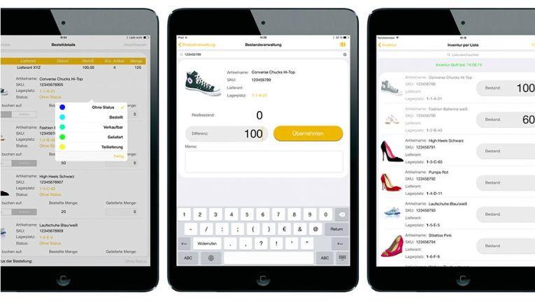 Läuft auch auf dem Tablet: Die Online-Marktplatz-Software Afterbuy