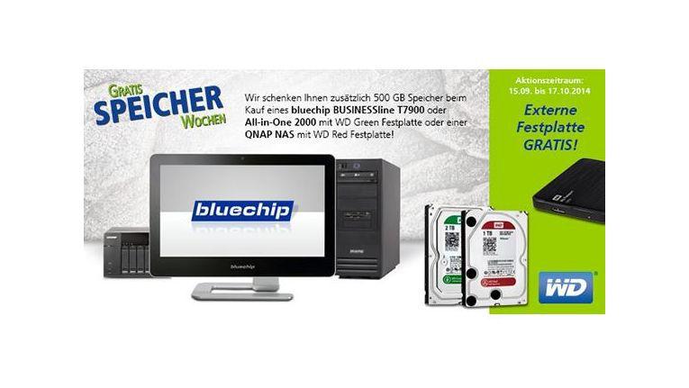 Eine externe Festplatte von Western Digital kann sicher jeder Fachhändler gut gebrauchen.