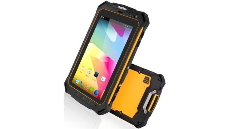 Eine Neuerscheinung ist das RG900 Tablet, mit allem was ein Android betriebenes Tablet haben muss. Der Hersteller RugGear aus Lauda-Königshofen entwickelt in Deutschland und lässt in China produzieren.