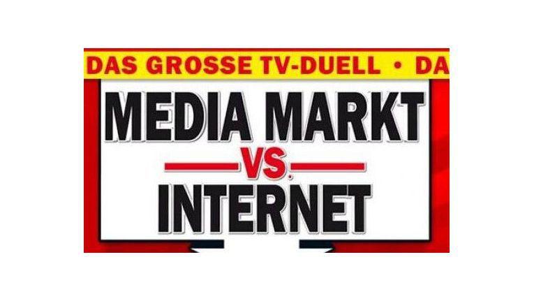 """""""Das große TV-Duell: Media Markt vs. Internet"""" – die Werbekampagne von Media Markt aus dem Jahr 2011"""