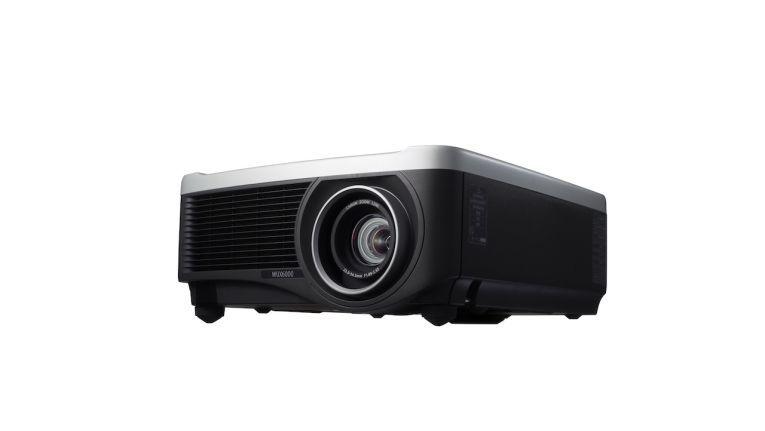 Canon WXU 6000: Kann angeblich ein einziges Bild bis zu 100 Stunden projiziieren, ohne dass es einbrennt.