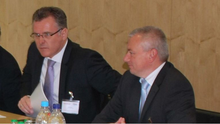 (v.l.) Klaus Berle, Director Cloud Computing, Hewlett-Packard, und Stefan Wahlscheidt, Head of Also Cloud Distributor, Also Deutschland