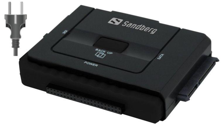 Verbindet interne Festplatten extern mit dem Computer: Sanberg USB 3.0 Multi Harddisk Link