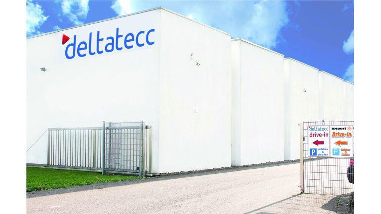 Mit Drive-in: Das Deltatecc-Lager in Saarwellingen