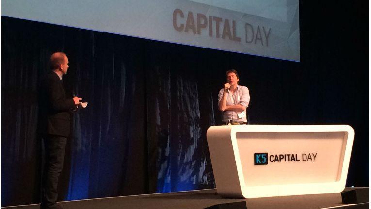 """""""Es geht um mehr, als nur Onlineshops zu kaufen"""": Redcoon/EOG-Chef Martin Sinner auf dem K5 Capital Day über die künftigen Zukäufe."""