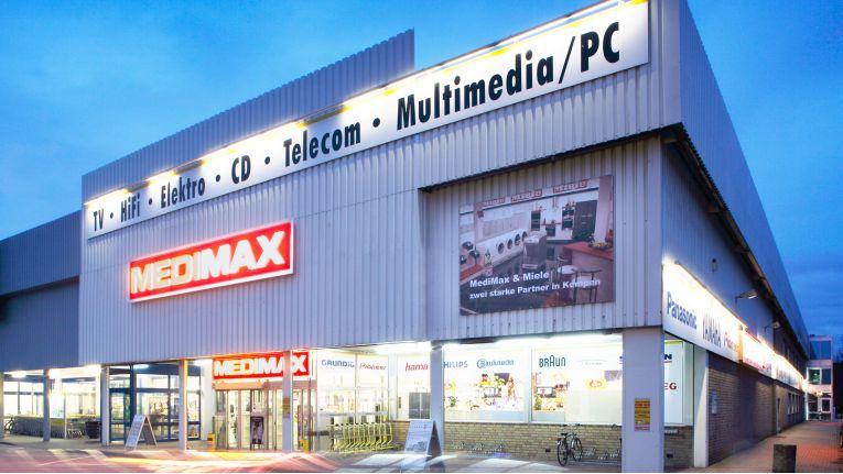 Die zu EP gehörenden Medimax-Fachmärkte gibt es an 125 Standorten in Deutschland