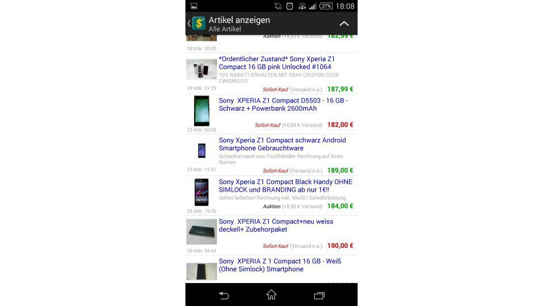 Verkaufswert Rechner Fur Ebay Artikel App Verkaufswert Rechner