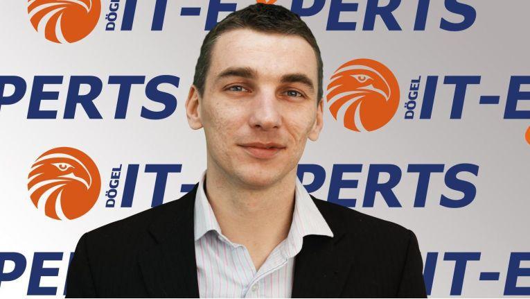 Oliver Lorenz, Geschäftsführer des Systemhauses Dögel IT-Experts
