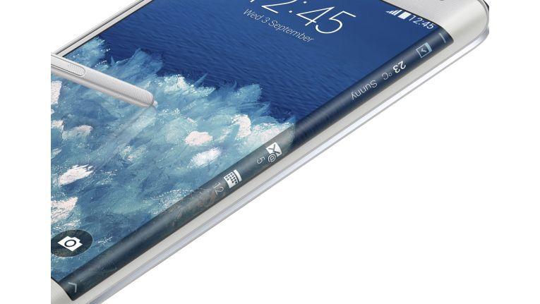 Neues Erfolgsrezept: Beim Galaxy S6 greift Samsung angeblich auf das gebogene Display des Galaxy Note Edge zurück.