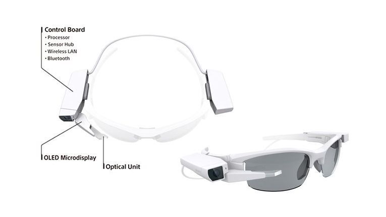 Sonys Gegenentwurf zu Google Glass