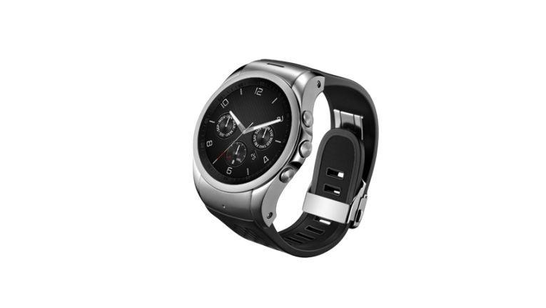 LG Watch Urbane LTE - nur echt mit drei Knöpfen an der Seite.