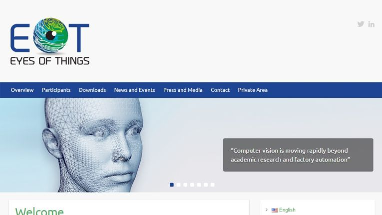 """Drei Jahre haben die Forscher Zeit, im """"Eye of Things""""-Projekte neue Anwendungen, Produkte und Geschäftsmodelle für den visuellen Bereich des """"Internet der Dinge"""" zu entwickeln."""