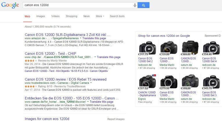 Die EU-Kommission wirft Google vor, in der Shopping-Suche eigene Dienste zu bevorzugen.